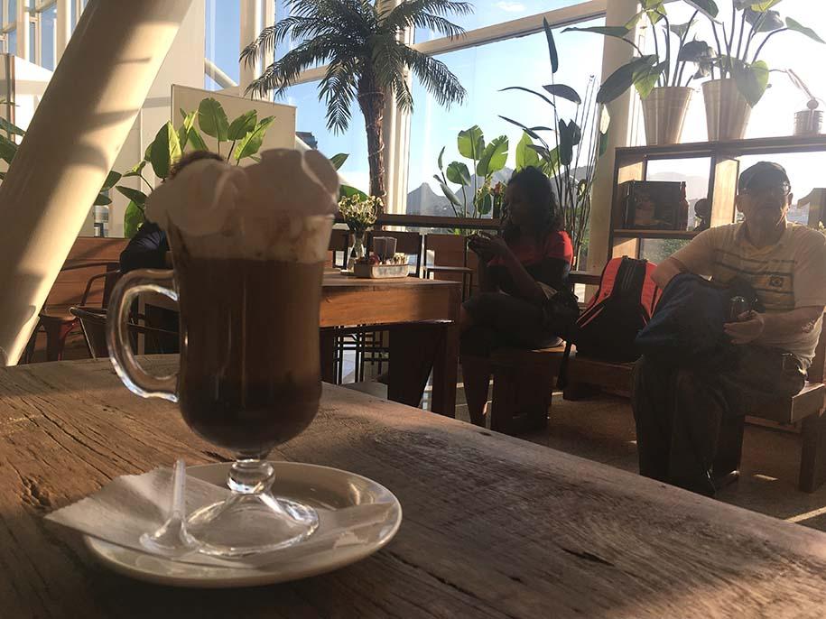Café com vista para o Rio de Janeiro