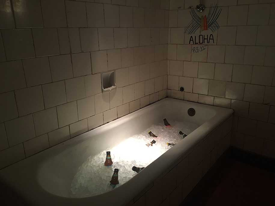 bar em são paulo, bebidas na banheira