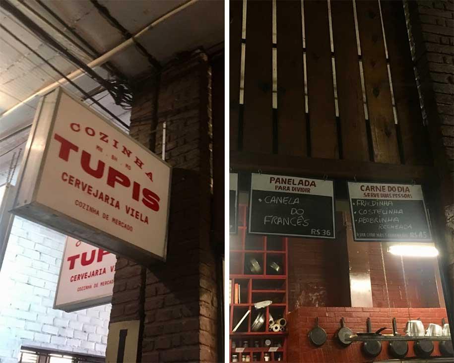 Cozinha Tupis, no Mercado Novo de BH