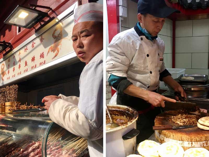 comida de rua chinesa