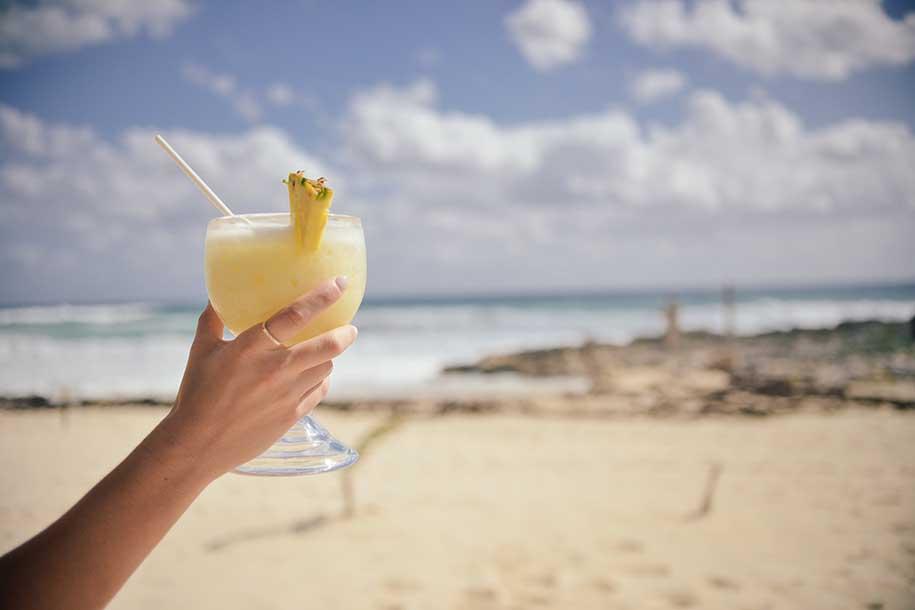drinks cubanos (piña colada)